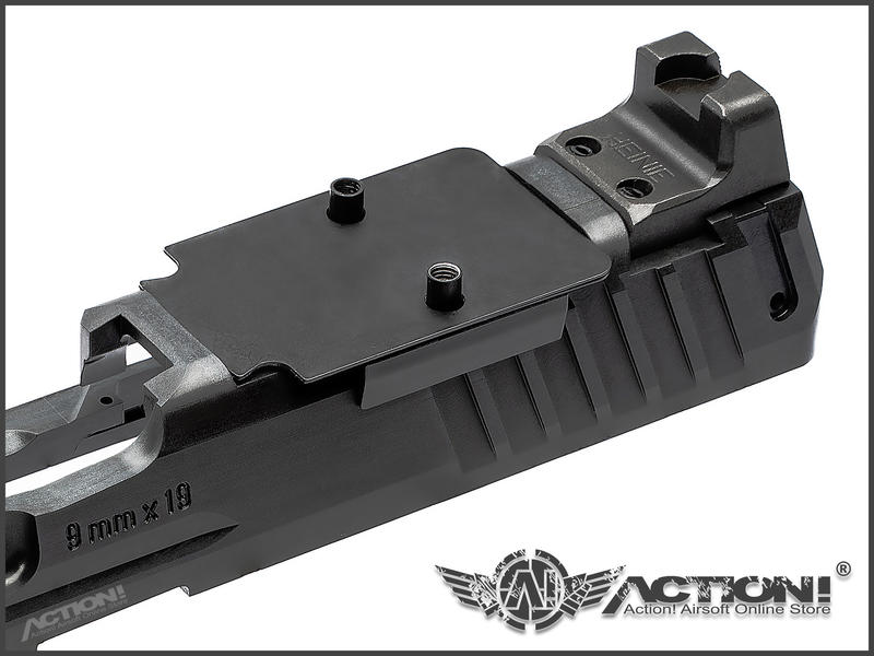 【ACTION!】TASK FORCE - BRONTES VP9 RMR樣式 鋼製套件組(VFC VP9專用)