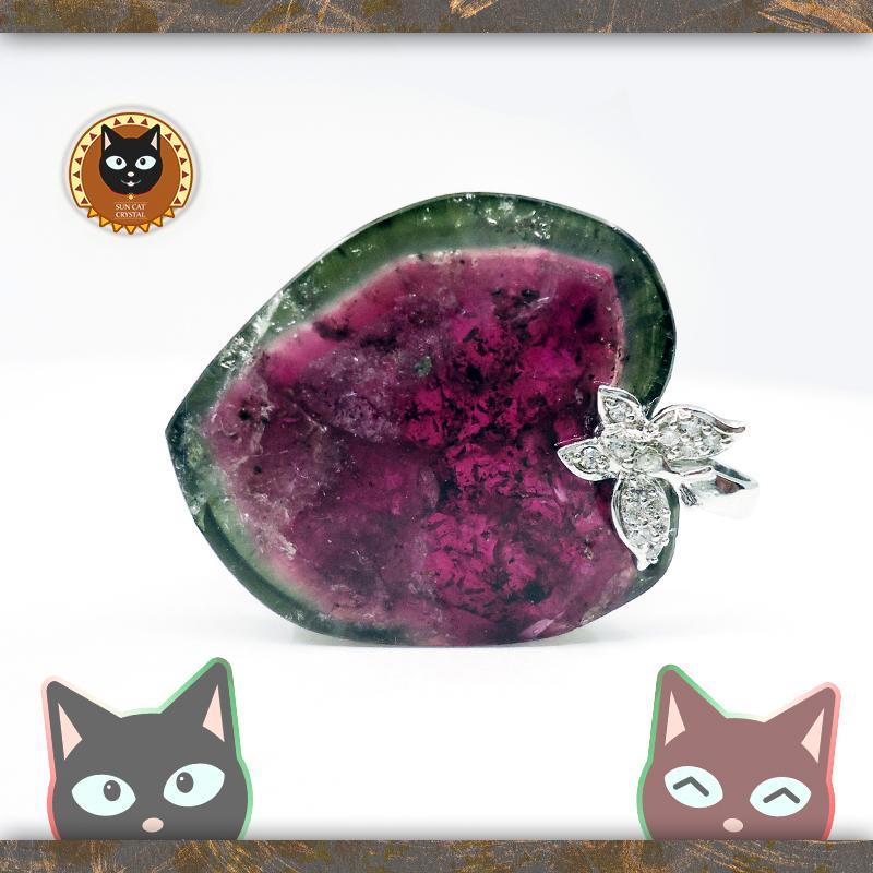 ☼§太陽貓水晶§☼【幸運寶石】原礦切片 黑膽石項鍊 電氣石 碧璽 Tourmaline