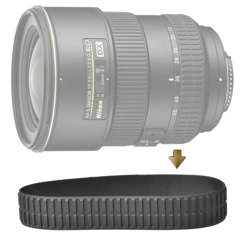 Zoom Rubber Ring for NIKON 17-55mm F2.8G 變焦環 變焦皮