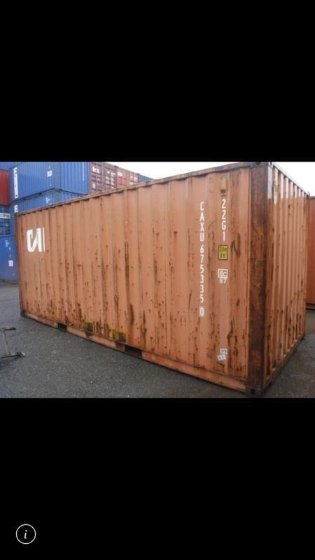 限量一個20呎貨櫃二手 @yju7641r 請加籟id估