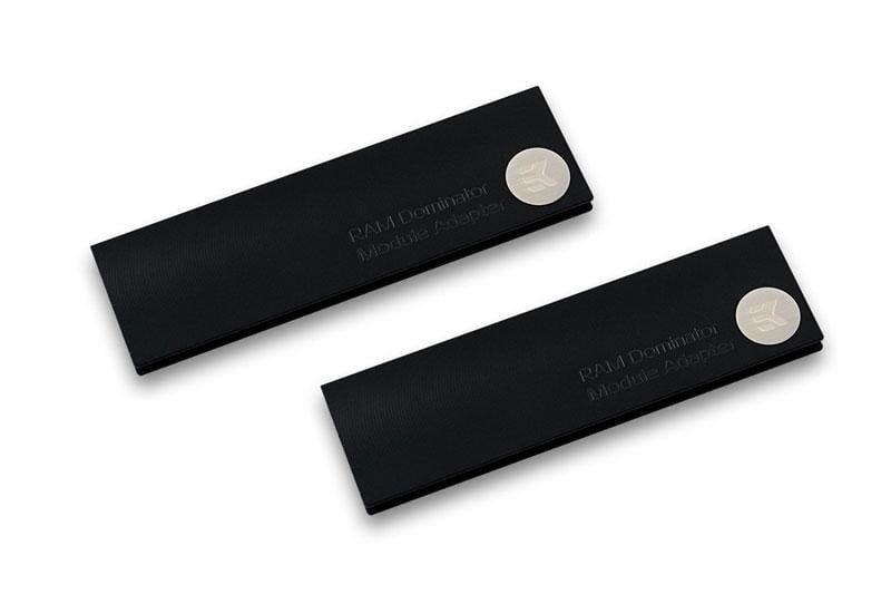 [水冷散熱]EK-RAM Monarch Module - Black 記憶體散熱模組(一組兩片)