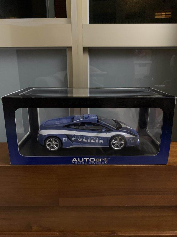 1/18 AUTOart Lamborghini Gallardo LP560-4 警車