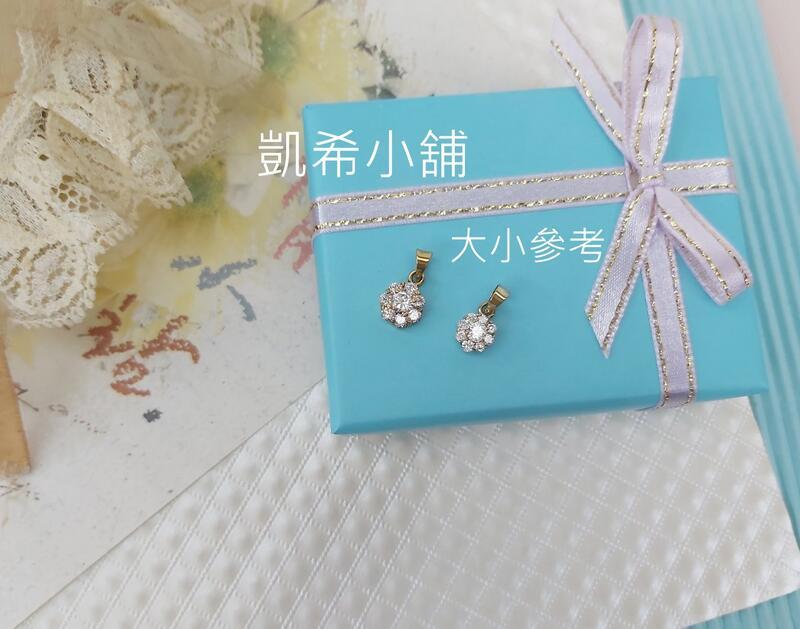 。☆凱希小舖☆。♥禮物♥  純k金 墜子Dscn0899大