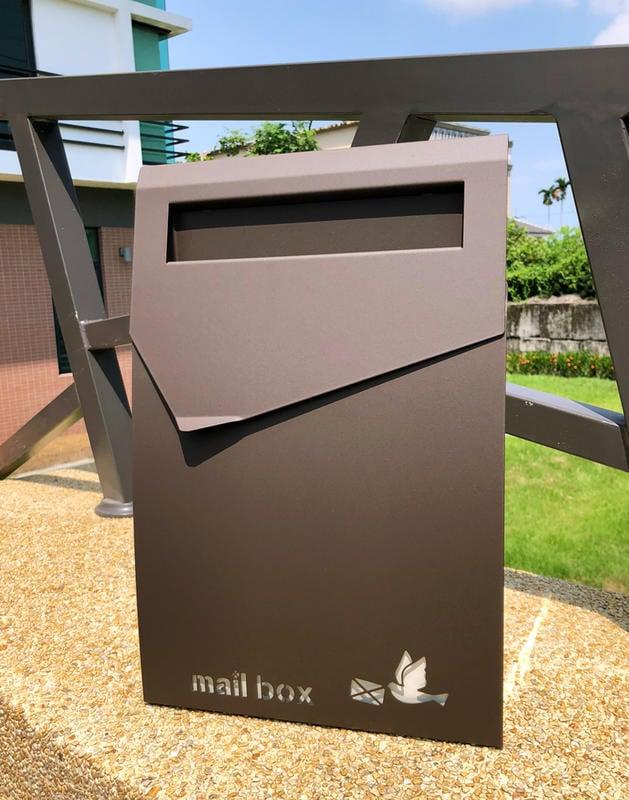 頂級款設計信箱,耐用與精緻的結合,無畏風雨,民宿愛用,不鏽鋼信箱,不銹鋼信箱,專業置物架廠商