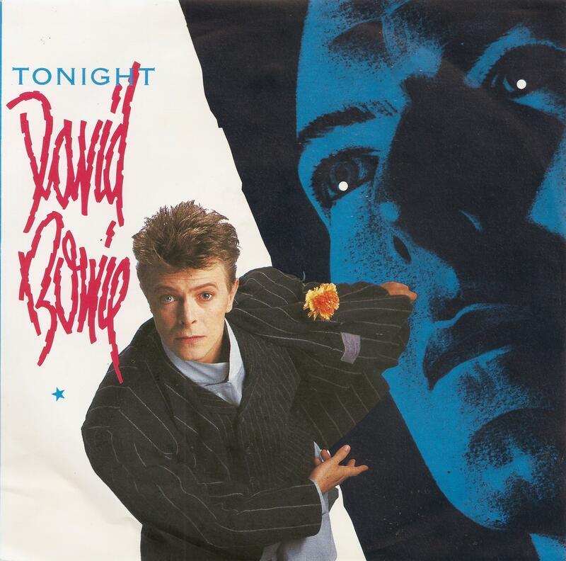 "Tonight - David Bowie with Tina Turner(7""單曲黑膠唱片)Vinyl"