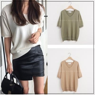 韓國妹cb30706❤韓國製造質感超好++非常非常美高級針織衫 ❤6色