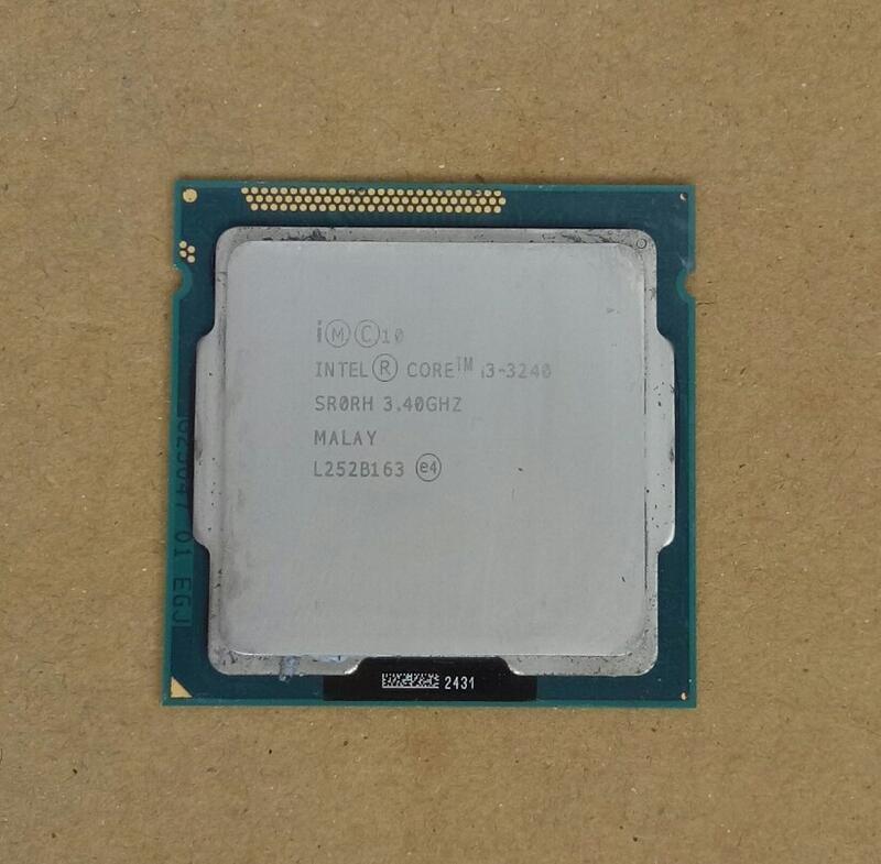 Intel core i3-3240_1155腳位/3.4GHz