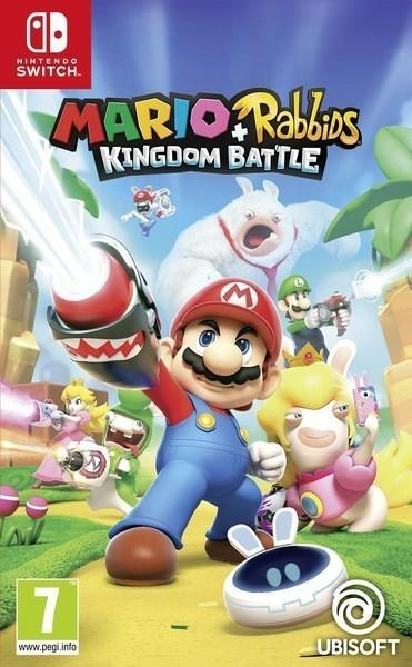 【優格米】可更新中文 現貨不用等 無特典  Nintendo Switch NS 瑪利歐 + 瘋狂兔子 王國之戰