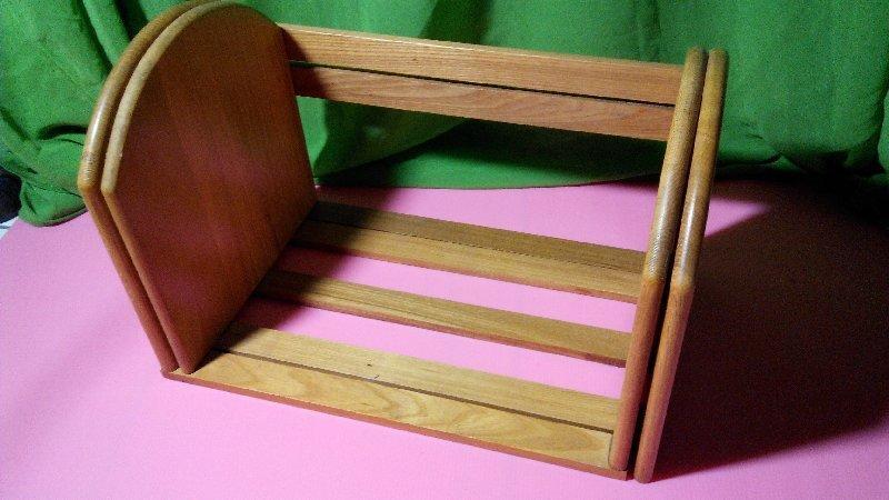 【風亭】<非一元商品>DIY便利型伸縮書架 木製伸縮書架 功能型書架 方便收納$500限面交
