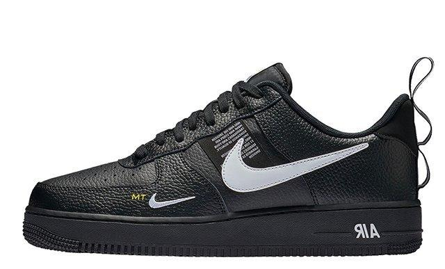 9527 Nike Air Force 1 07 LV8 Utility 黑白 AF1 AJ7747-001