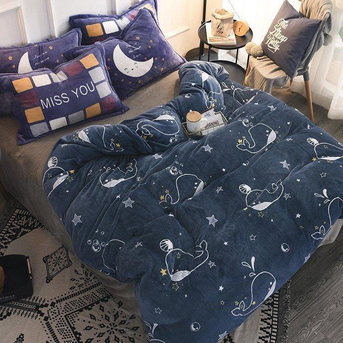 ??熱銷??暖暖被|超暖床包??雙人四件組|法蘭絨加大??法蘭絨床包+枕頭套兩個+床單,四件組yjxd74156