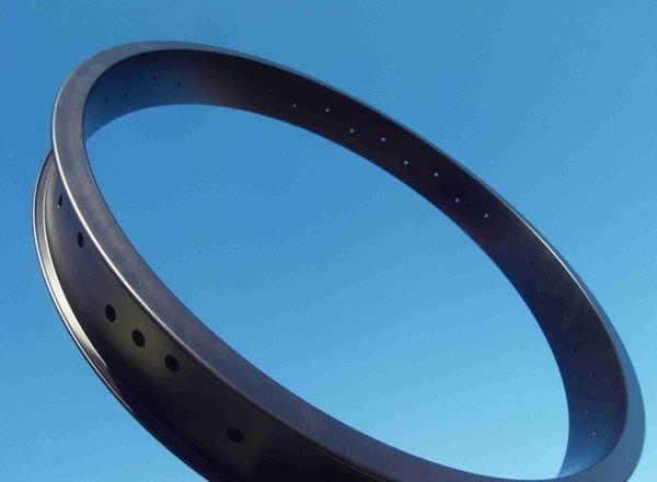 """鐵馬工坊---24""""X6.5cm寬雙層鋁圈,適用2.125"""",3.0"""",4又1/4""""寬輪胎(另有賣場)"""