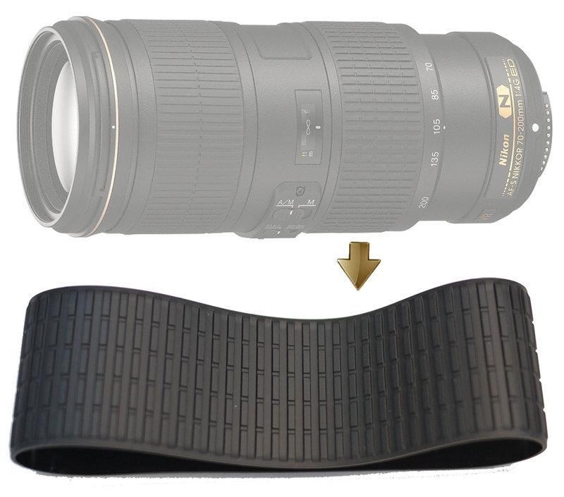 Zoom Rubber Ring for Nikon 70-200mm F4G VR 變焦環