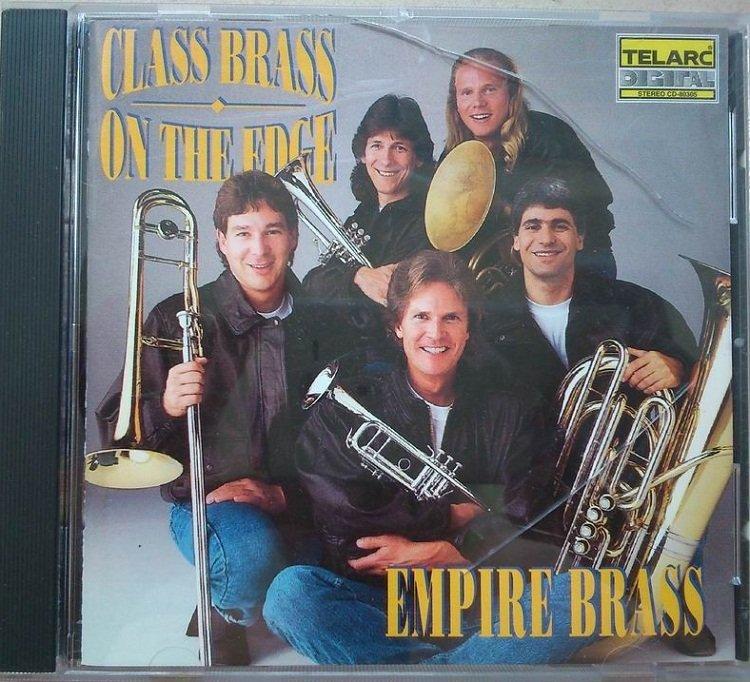詩軒音像泰拉克 (帝國銅管五重奏)Class brass on the edge CD-dp070
