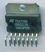 [二手拆機][含稅]拆機二手60W高保真大功率音訊功放IC TDA7296 品質保證