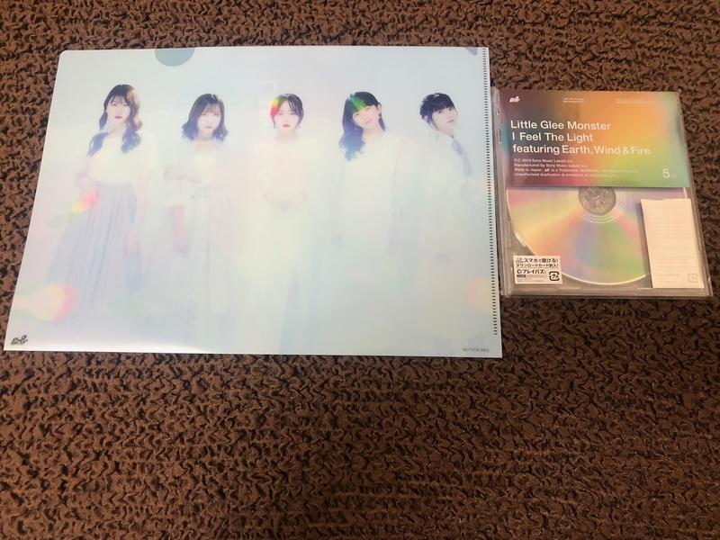 [HMV特典] [CD+DVD] Little Glee Monster I feel the light (附文件夾)