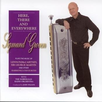 詩軒音像車載CD 西格蒙 葛洛文 Sigmund Groven 口琴披頭四 明達唱片-dp070