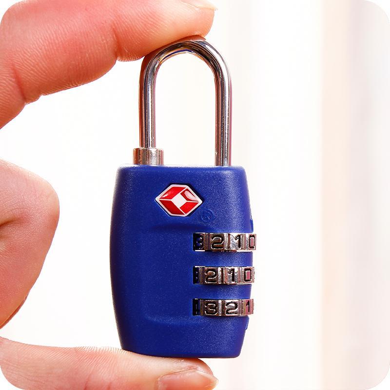 【美國TSA海關鎖 | 行李箱防盜鎖密碼鎖 】號碼鎖 旅行箱TSA鎖 | 美國海關鎖