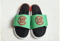 2015 川久保玲 聯名款PLAY x 愛迪達 Adidas Slide 拖鞋 記憶海綿