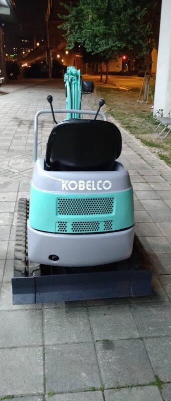 日本外匯 怪手 挖土機 小乖乖  農用  KOBELCO  sk007-2 .伸縮履帶 ~縮64公分.開90公分寬