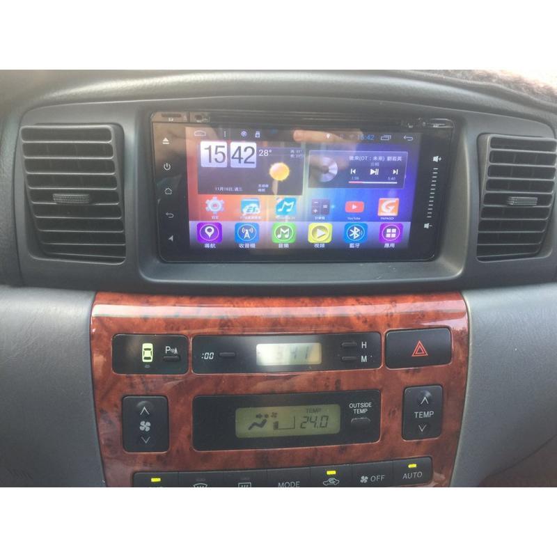 TOYOTA ALTIS VIOS WISH YARIS 86 PREVIA 7寸 汽車多媒體音響 安卓主機 汽車音響
