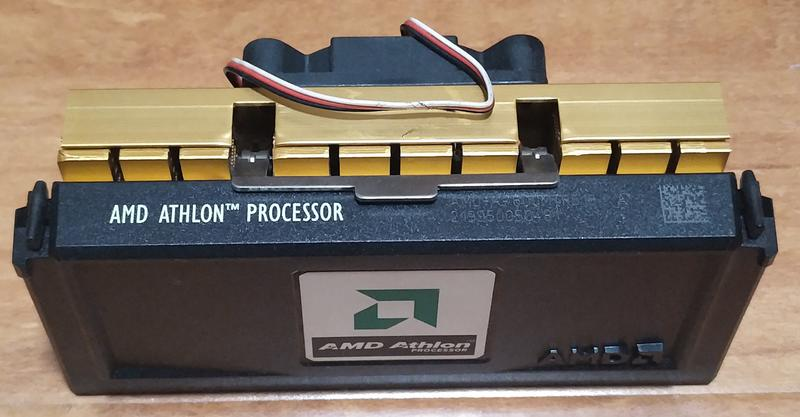 ㊣AMD ATHLON 600 SLOT-A 老式插卡K7