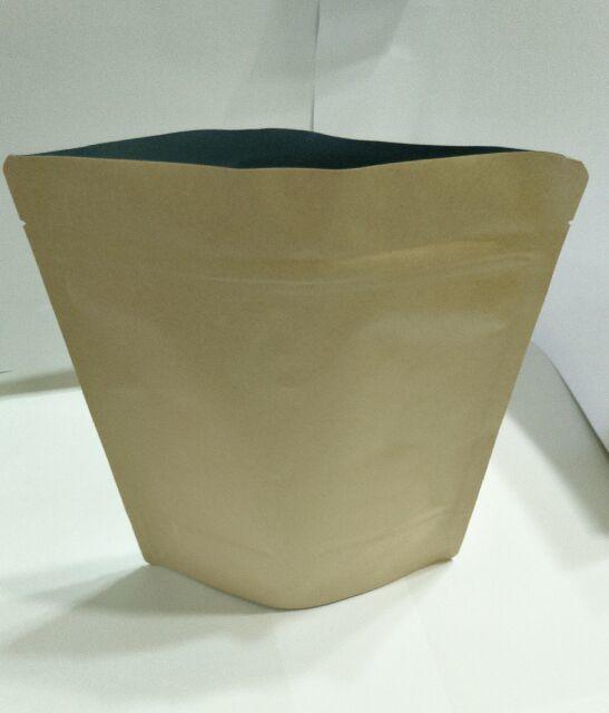 【榮豆咖啡生豆】牛皮紙半磅咖啡夾鏈袋*有透氣閥20個130元*咖啡袋*夾鏈袋*半磅咖啡袋* 鋁箔袋*烘焙機*烘豆機