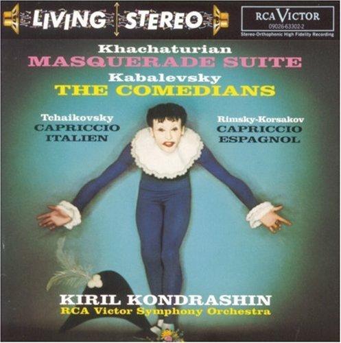 詩軒音像科瑞爾·孔德拉辛 - 哈恰圖良: 化裝舞會組曲 CD-dp070