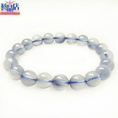 藝晶店★頂級天然藍髮晶手鍊(31056)