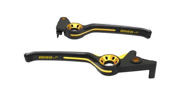 【優購愛馬】KOSO 雙色鷹眼剎車拉桿 RX110 GT125 GP125 G5125 悍將 G3 G4 三冠王