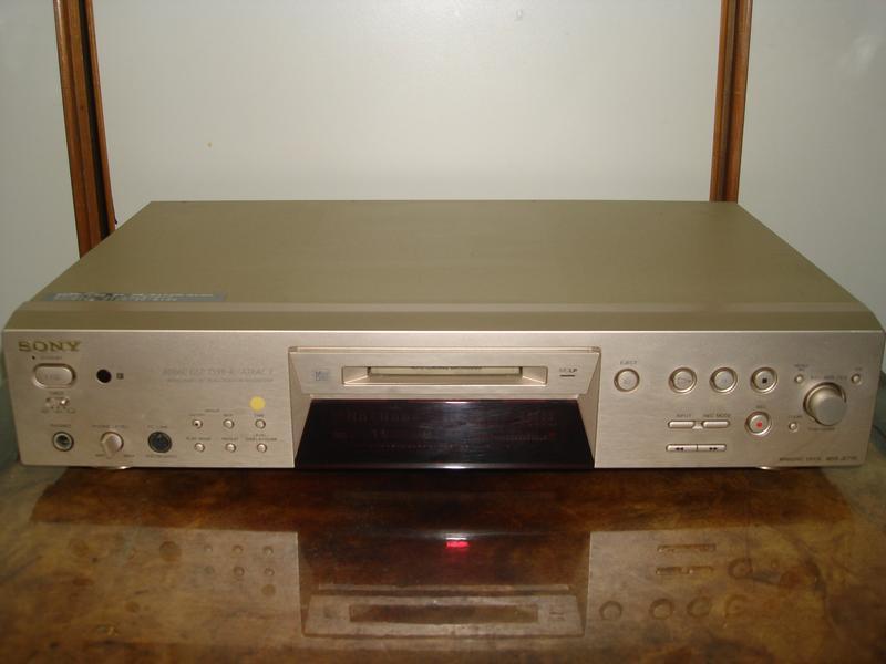 31.SONY MDS-JE770 MD播放機可當DAC使用特價7000元