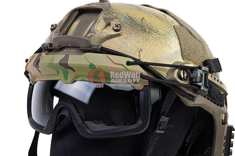 【聯盟軍 生存遊戲專賣店】TMC SF QD Goggle OPS 頭盔護目鏡 Multicam TMC3105-MC
