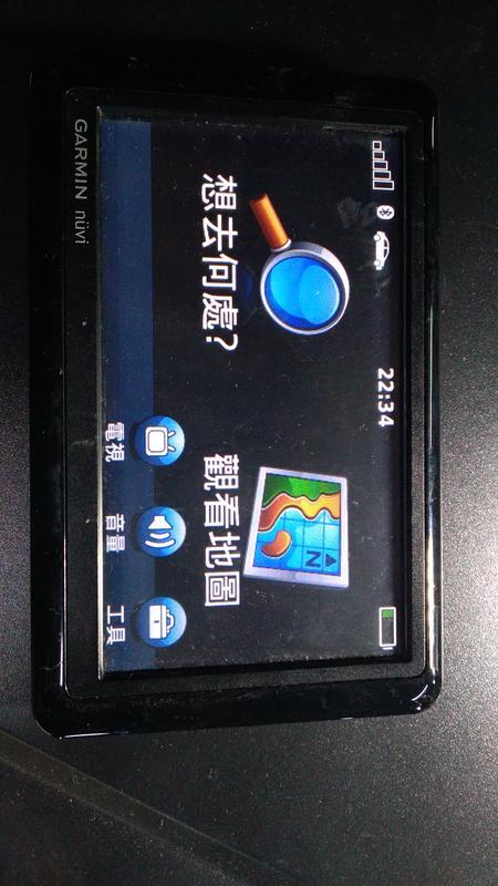 (萊)可開機的GARMIN  NUVI 1480 其他功能未測零件機