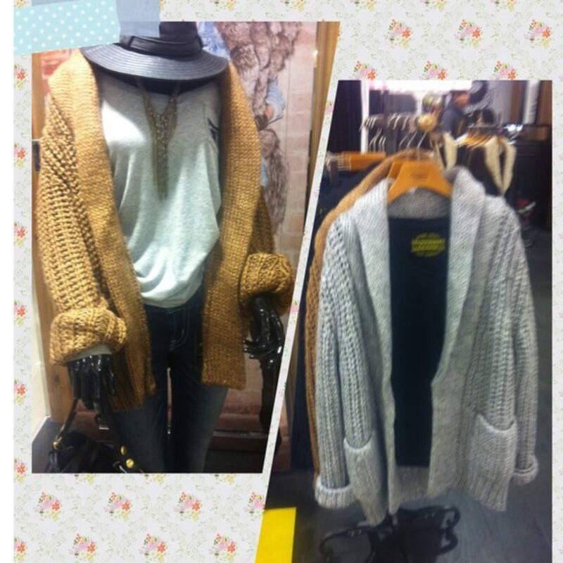全新日本帶回LOWRYS FARM毛料外套/毛衣外套~買就送同品牌購物袋哦