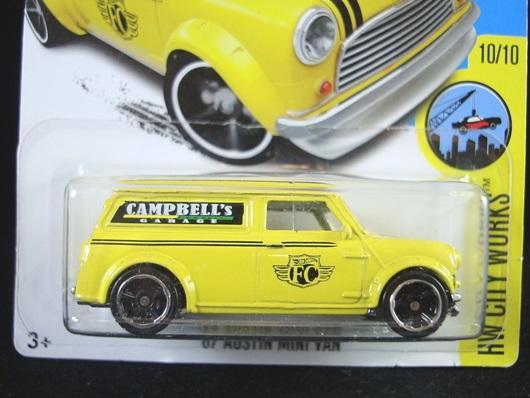 每人限購一台  MINI 奧斯丁 1967 AUSTIN MINI VAN 黃
