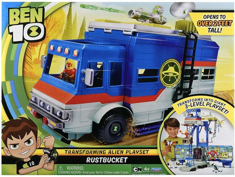[東京鐵]美版 Ben 10 Rustbucket 變形卡車場景套裝販售---我們最便宜