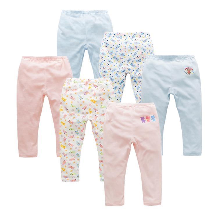 嬰兒褲子女寶寶純棉打底褲男嬰幼-一級棒-可開發票Al