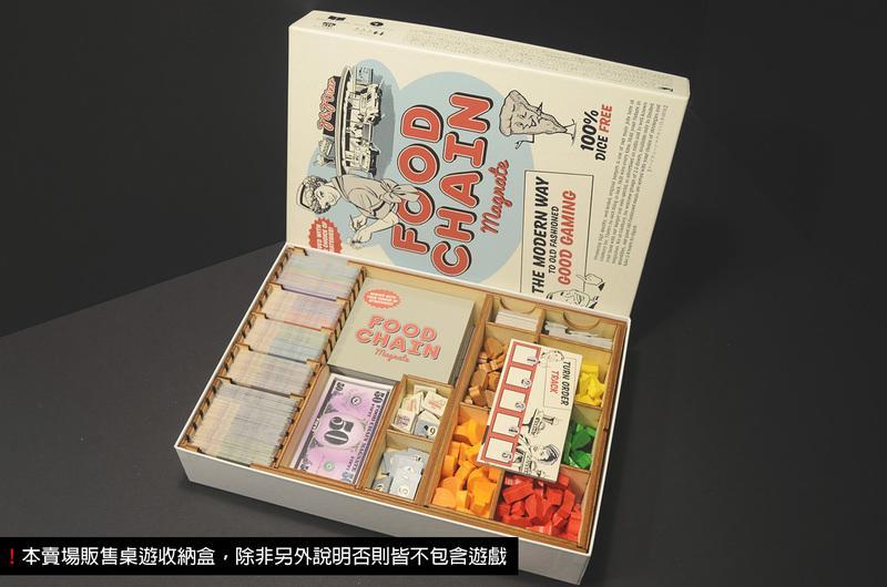 【烏鴉盒子】連鎖美食集團 Food Chain Magnate(日版)收納盒(不含遊戲)│桌遊收納