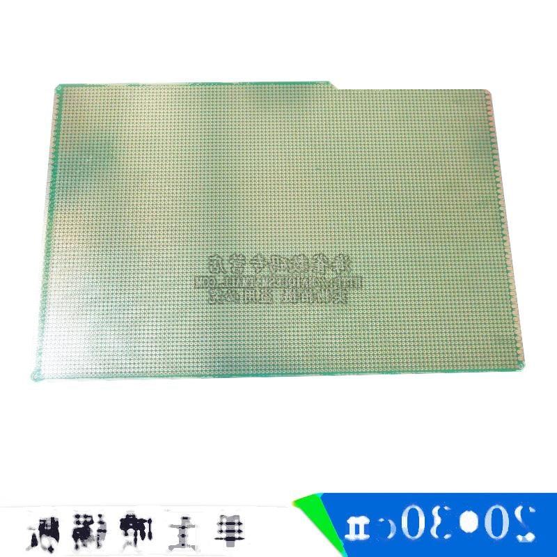 單面噴錫 PCB 優質玻纖板 20*30cm 厚度1.6 洞洞板 實驗板 221-01343