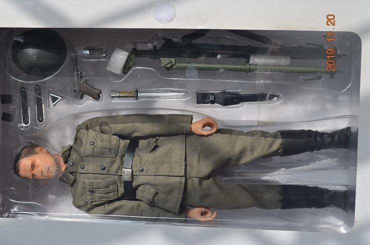 原價$3060 特價#1699限量 精美塗裝完成品 Dragon 1/6 重機槍+可動軍人偶 #70816