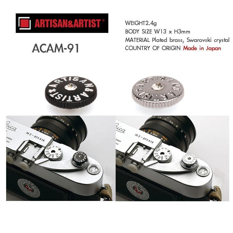 【攝界】日本製 Artisan&Artist AA 水晶快門按鈕 增高鈕 ACAM-91 Leica RX1 XT
