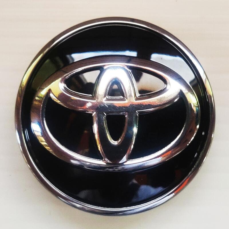 Toyota 原廠15吋 53mm  Altis Vios Yaris 鋁圈蓋 輪圈蓋 中孔蓋 (一組四入)