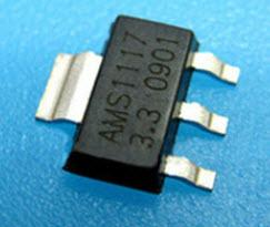(10個一標) AMS1117-3.3 SOT223 降壓3.3V 穩壓 功能同 LD1117A-L33