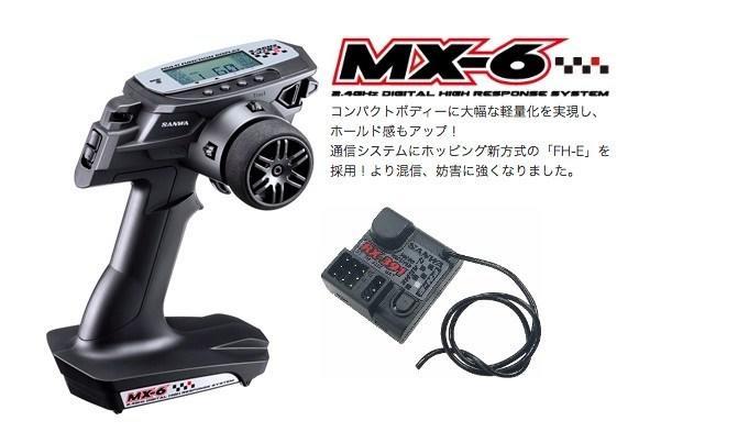 [台中學友] SANWA MX-6  + RX-391W防水接收 中文說明書
