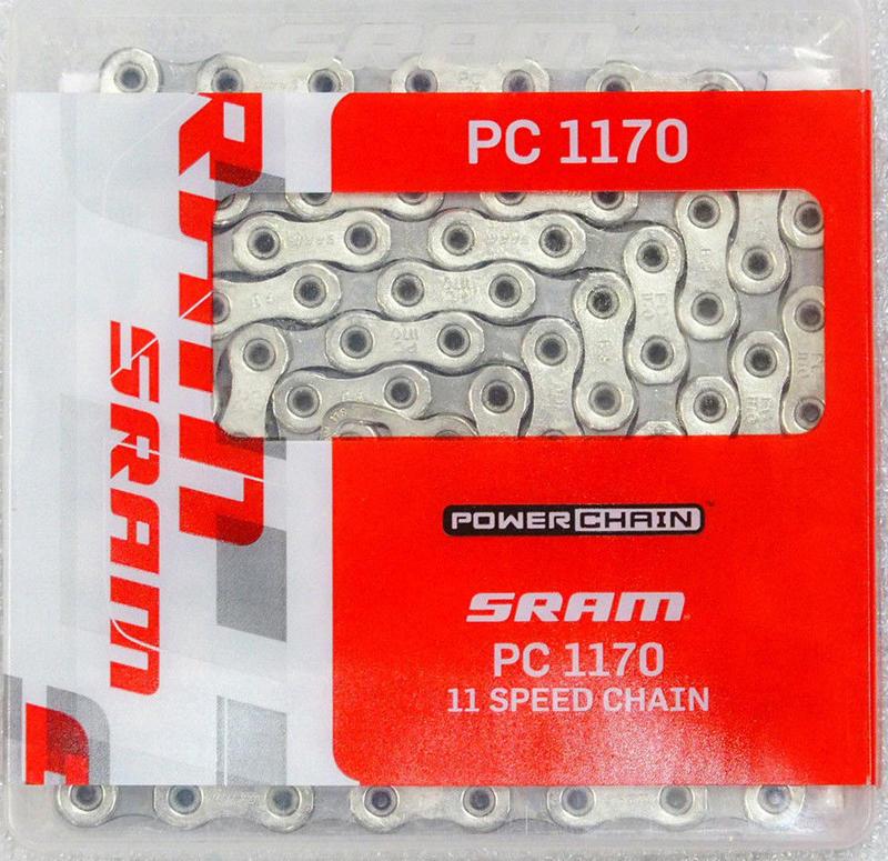 艾祁單車SRAM超長120目FORCE22 PC-1170 PC1170 11速鏈條RED FORCE RIVAL 22