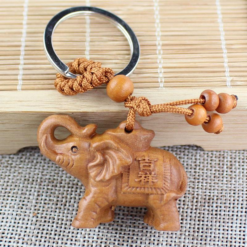 新年禮物-立體 大象 吉象 吉祥 平安 鑰匙圈(禮品、禮物、送禮、新年、賀禮、贈品、拜年、交換禮物、吊飾、掛飾、小禮物)