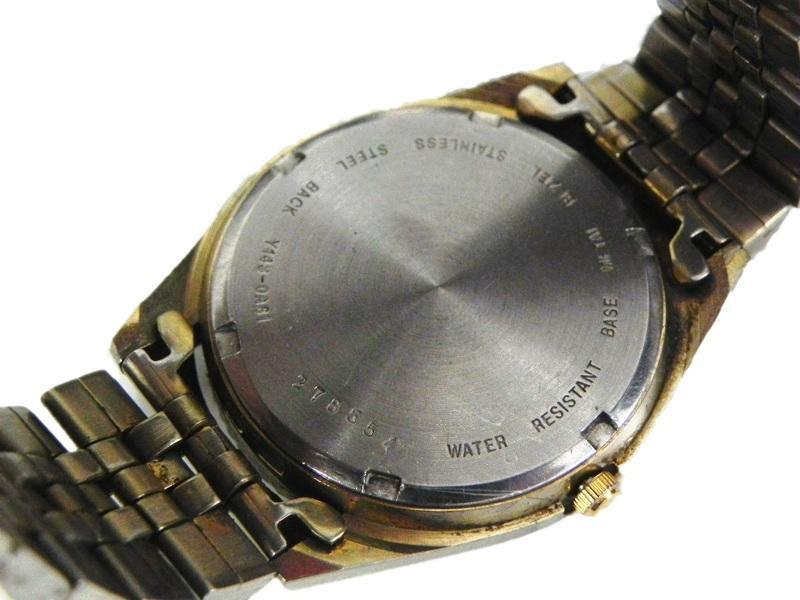 [專業模型] 時尚錶 [ALBA 078554]  ALBA 雅柏經典蠔式男仕金錶/石英/時尚錶