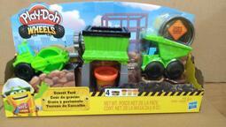 培樂多車輪系列 碎石場遊戲組 培樂多Play-Doh 孩之寶 Hasbro 培樂多黏土 創意DIY E4293
