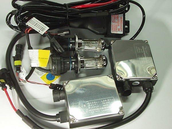 現貨~24V專用 55W安定器*2+H4伸縮燈管*2+專用24V強化線組 HID汽車一組 SCANIA FUSO D