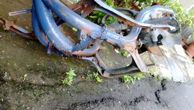 Gy6 迪爵 空車台 下面有生鏽 可以去焊鐵加強 彰化自己來載 300